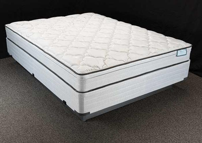 Furniture exchange acadia eurotop queen size mattress set for Furniture exchange