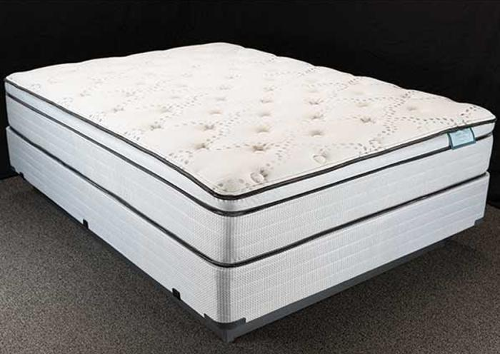 Furniture exchange denali euro top queen size mattress set for Furniture exchange
